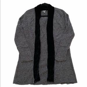 J. Jill Open Front Sweater